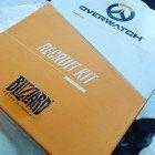 #overwatch recruting kit in da house! #blizzard